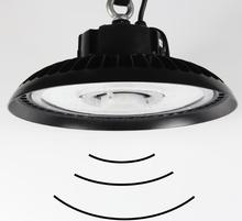 5.8G Microwave Motion Sensor Light Dimming Function 150W UFO led high bay light with 19500lm