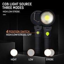 USB зарядка COB Рабочая лампа Портативный кемпинговый фонарь DC5V ABS Рабочий свет Аварийное