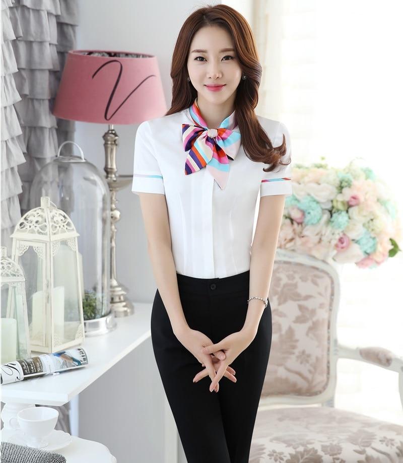ᓂprofessional Formal Uniform Style Female Pantsuits Tops And Pants