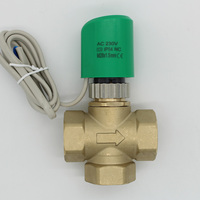 3 way valve NO NC 230v 24V normally open normally closed electric thermal actuator for underfloor radiator M28X1.5 DN20 DN25