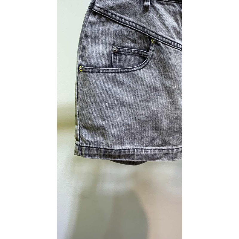 Grau Sexy dunkles Denim Hohe Jeans Retro Kurze Shorts Frühling 2019 Damen Frauen Cowboy Casual Neue Sommer Grau In Taille 8WxxPTqawI