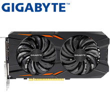 GIGABYTE Graphics Card Original GTX 1050 TI 4GB 128Bit GDDR5 Video Cards for nVIDIA VGA Cards Geforce GTX 1050Ti game Used(China)