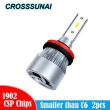 H4 LED H7 H1 H11 9005 H8 H9 HB3 9006 HB4 9003 HB2 Super Bright Car Headlights Bulb 36W 6000K Auto Lamp Styling 12000LM 12V 24V