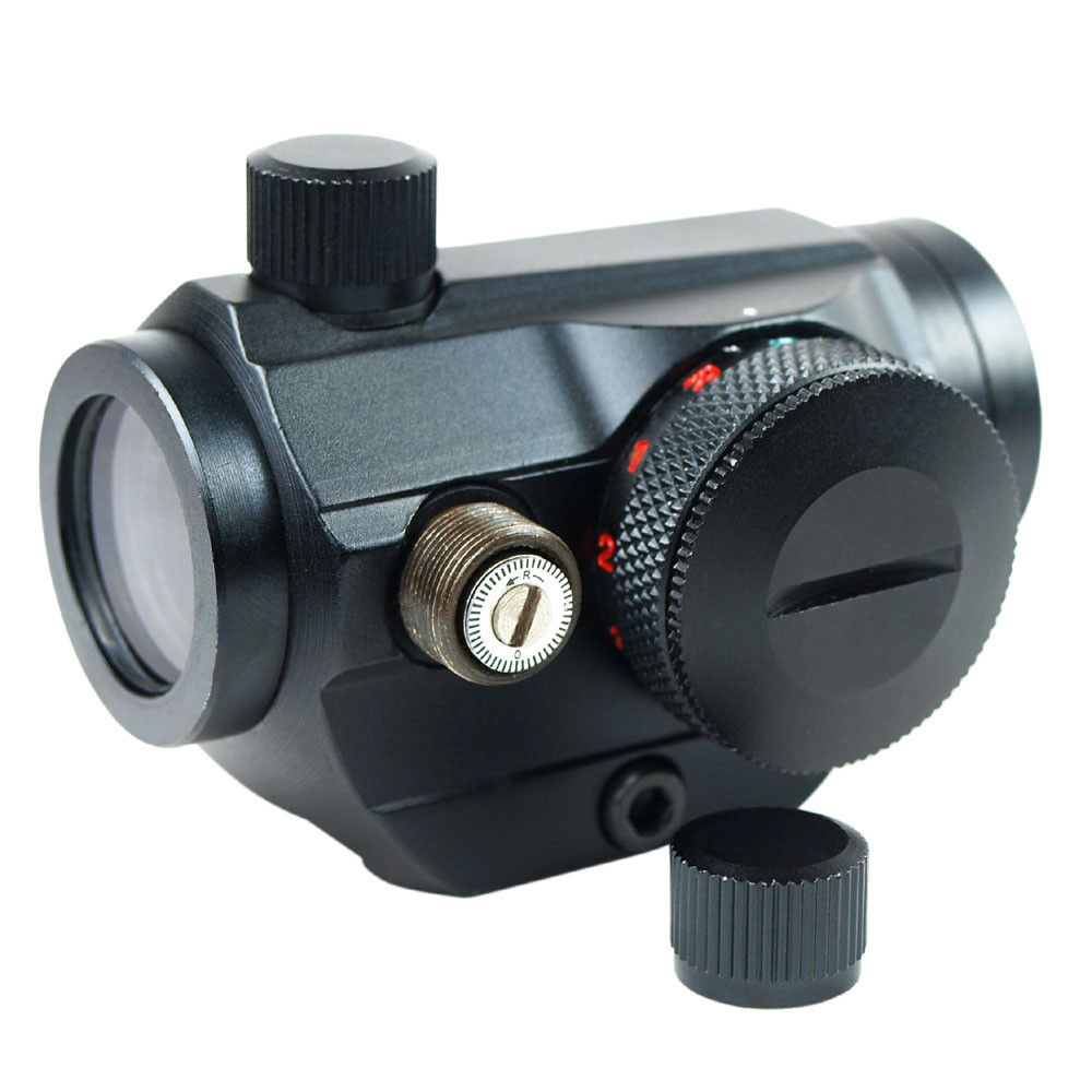 SBEDAR Tactical Red Dot Sight Optical Holographic Sight Scope 20mm Mount for Hunting Airsoft