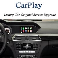 2011 2014 Class A B C E ML GLK SLK GL Comand NTG4.5 CarPlay for Mercedes Benz Support Android Auto Google Map CarPlay