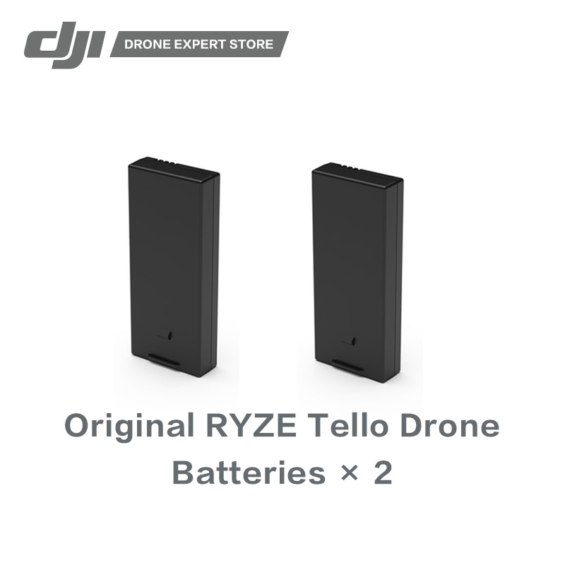 2pcs/set Original RYZE Tello Battery with High-quality Cells Original New Drone Accessories in stock 2pcs set dji original tello flight battery drone batteries high quality cells