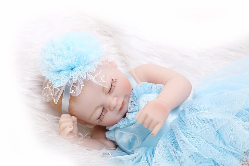 Newest Princess Skirt 27cm Full Silicone Girl Newborn Baby Shower  Enlightenment Bath Toy Water Realistic Reborn Dolls Mini In Dolls From Toys  U0026 Hobbies On ...