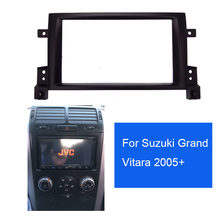Новинка 2DIN Автомобильная установка DVD рамка, DVD панель, Dash комплект, фасции, Радио Рамка, аудио рамка для SUZUKI GRAND VITARA 05-up