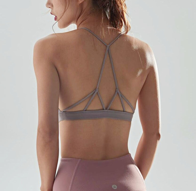 Sports Bras Backless Strap