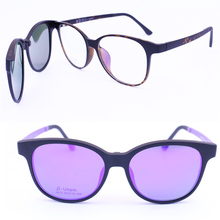 4e4243592d73 Light weight 012 ULTEM walkers shape optical glasses frame with megnatic  clip on removable polarized sunglasses