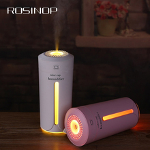 Rosinop Gadgets Cool USB LED Light Colors Night 230ml Aroma Essential Oil Diffuser Home Car Ultrasonic Air Humidifier