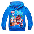 2015 New Hot Children Hoodies The Secret Life of Pets Thin Sweatshirt Boys Girls Autumn Coat Kids Long Sleeve Casual Outwear