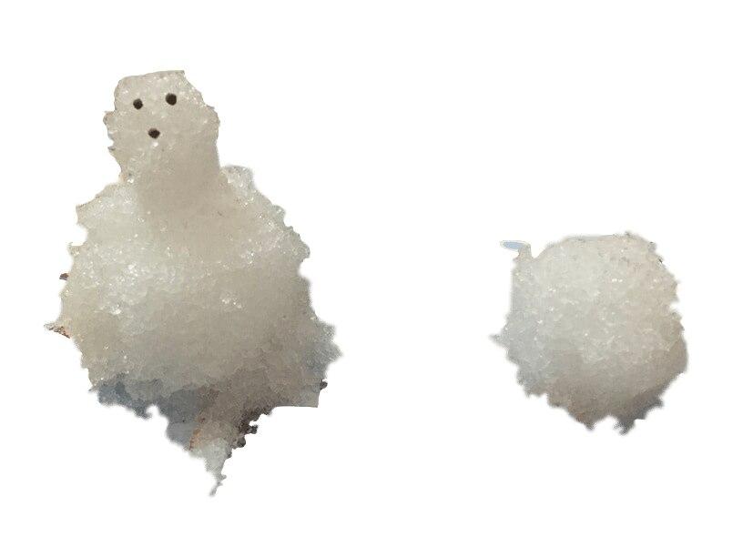 2019 1KGS blanc hiver magique croissant fausse poudre de neige grandir instantanée noël enfants magique bébé jouets utiliser à nouveau comme Ture enfants - 6