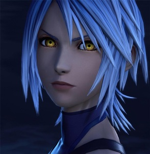 Image 5 - Kingdom Hearts III Aqua คอสเพลย์วิกผมบทบาท Play PARTY ผมสำหรับคริสต์มาสฮาโลวีนสีฟ้า 2019 ใหม่ GANME อะนิเมะวิกผม + หมวกวิกผม