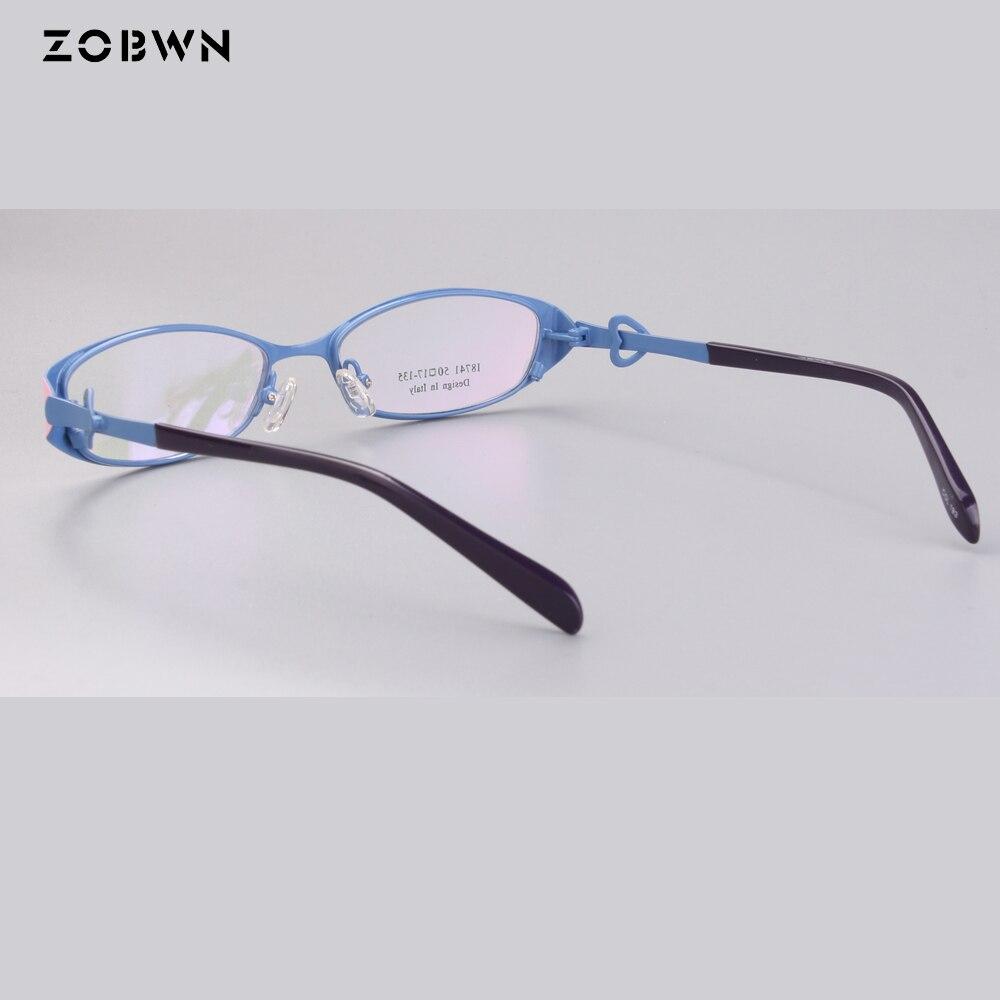 Brille Oculos Grau Rahmen Gläser Myopie Optische Metall Unisex Muster Weiblichen De Frauen Brillen Großhandel PHwaTxzO