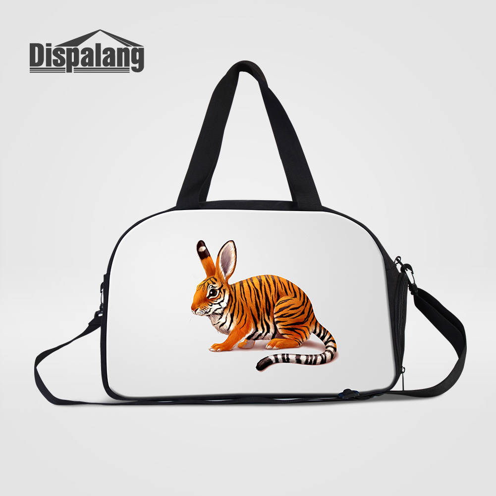 Dispalang New Fashion Unisex Travel Bags Unique Design Animal Duffle Bag Handbags Women Canvas Clothes Weekend Bag Drop Shipping