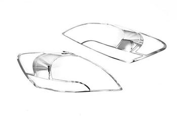 High Quality Chrome Head Light Cover for Toyota Yaris Sedan 06-09 Free Shipping