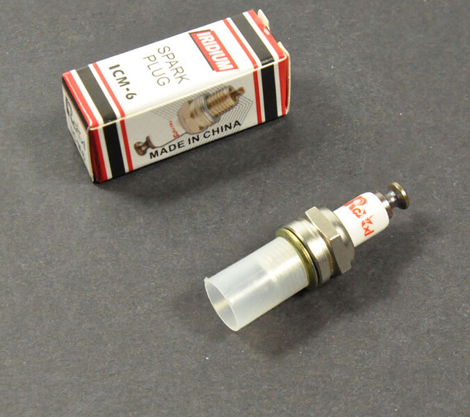 Rcexl CM6 vela de Ignição Iridium Para DA ICM-6 10mm Motor A Gasolina DLE