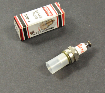 Rcexl ICM-6 10mm CM6 Iridium Spark Plug For DA DLE Gas Engine dle170 carburetor original for 170cc dle gas engine