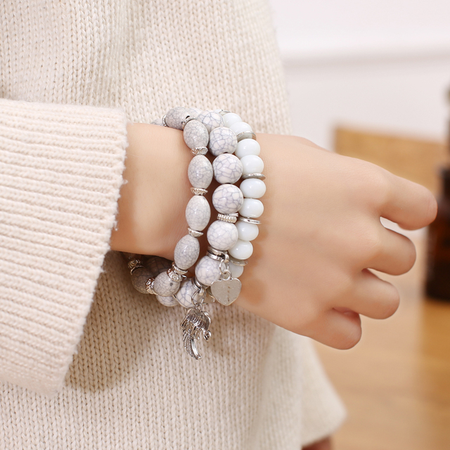 3pcs/set Fashion Bohemian Women Bracelet