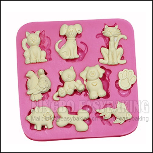 Molde de decoración de pasteles Molde de silicona de múltiples - Cocina, comedor y bar