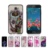 New Case For Samsung Galaxy On5 G550 Silicone Back Cover Fit For Samsung Galaxy On5 G550 Flower Design Girls Cute Coque Shell