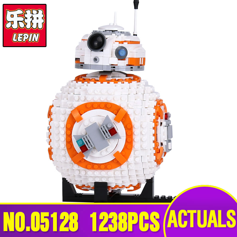 Lepin 05128 Genuine Star Series The Wars Double B 8 Robot Set 75187 Set Building Blocks Bricks Legoing Toys As Christmas Gifts цена