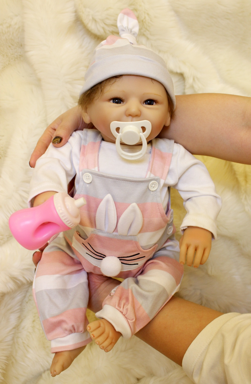 50cm Silicone Reborn Baby Doll kids Playmate Gift For Girls 20 Inch Baby Alive Soft Toys For Bebes Reborn Brinqueo NPK50cm Silicone Reborn Baby Doll kids Playmate Gift For Girls 20 Inch Baby Alive Soft Toys For Bebes Reborn Brinqueo NPK