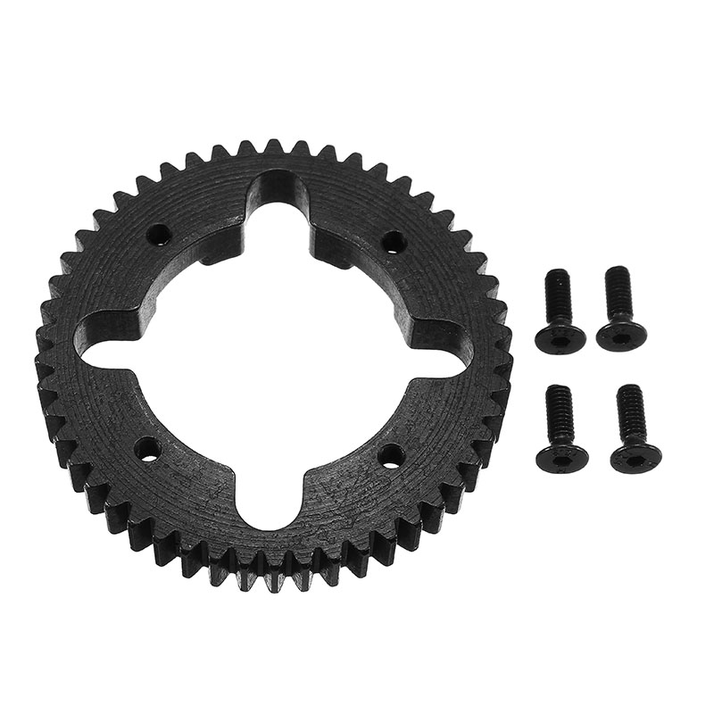 Vkarracing 52T Steel Center Diff Spur Gear ET1096 RC Car Parts For Truggy Buggy Short Course front diff gear differential gear for wltoys 12428 12423 1 12 rc car spare parts