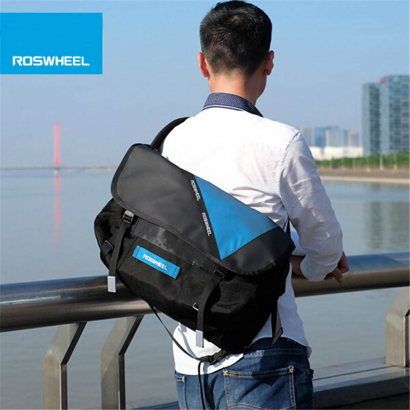 ROSWHEEL Cycling Bag Bike Bicycle Ciclismo Riding Travel Outdoor Pouch Waterproof Messenger Bag Shoulder Bag 3 Colors XS/S/M джемпер wallis wallis wa007ewyep43