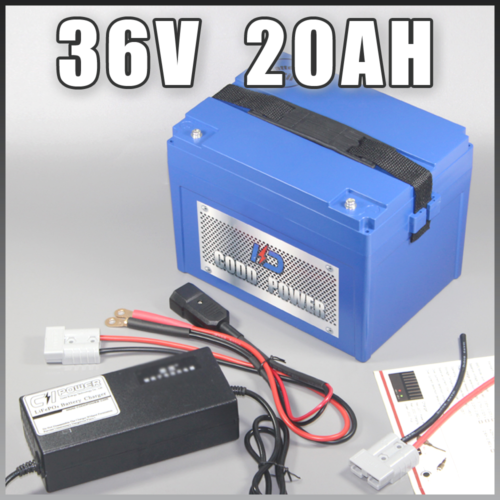 36V 20AH Lithium ion Electric eBike Battery ABS Case 36V electric bicycle battery with 30A BMS