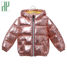 лучшая цена Baby Girls Jacket Autumn Winter kids jacket Hooded Warm Outerwear Windbreaker Coat For Boy Trench Clothes Children Jacket