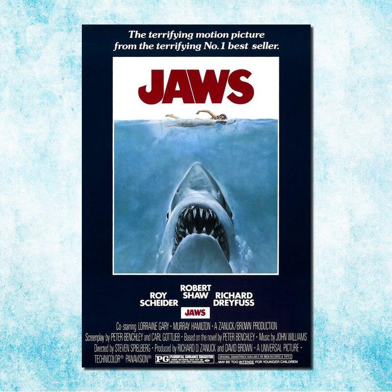"""JAWS Hot Movie Poster 13x20/"""" 20x30/"""" 24x36/"""" Art Print #2"""