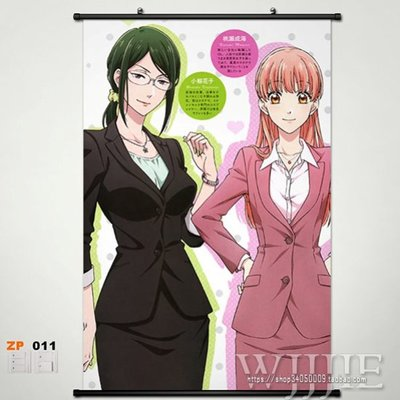 Wotakoi Love is Hard for Otaku  Home Decor Anime Japanese Poster Wall Scroll 03