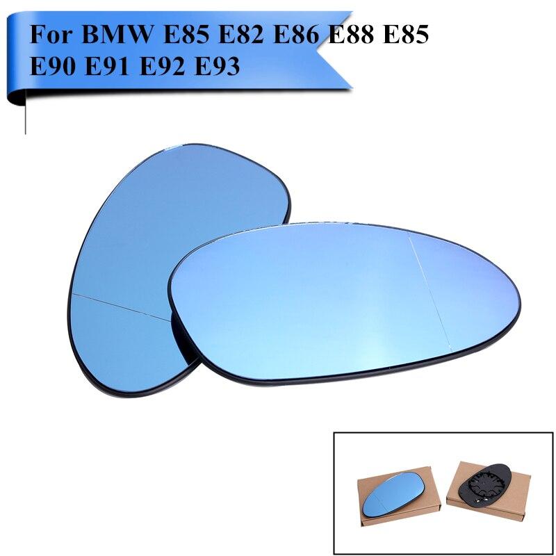 Grande Angular Aquecido Espelho Porta Da Asa Para BMW Z4 E85 E86 E88 E82 128i 135i E85 E90 E91 E92 E93 323i 325i 328i 330i 335i # P465