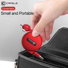 cafele 150cm 3in1 USB Charge Cable for iPhone & Micro C Retractable Portable Charging Type