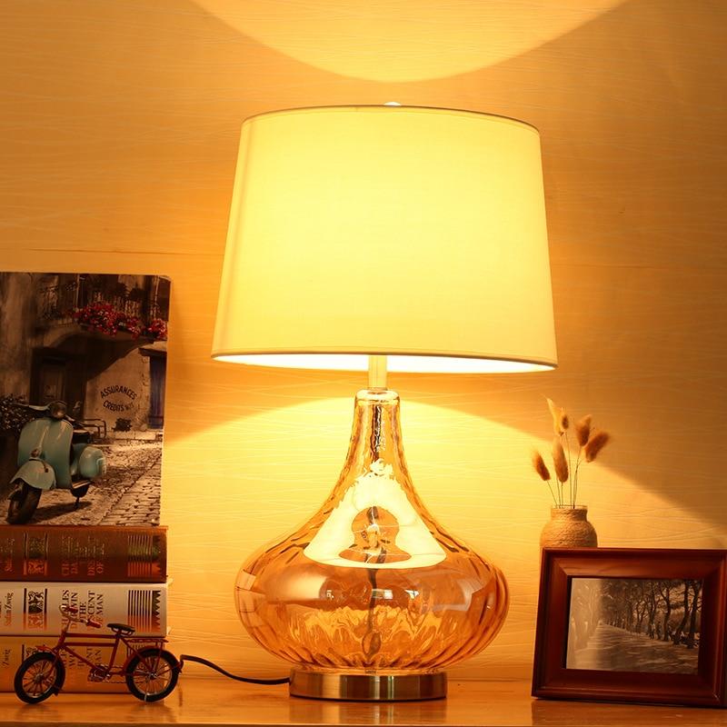 Туда 35X61 см Бесплатная доставка Современная Стиль светодиодный настольная лампа минималистский Дизайн для Спальня ночники современный хос...