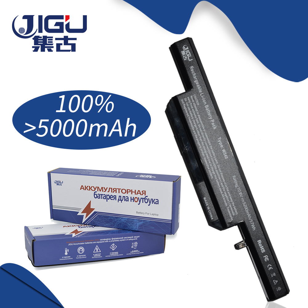 JIFU Laptop Battery 6-87-W540S-4U4 6-87-W540S-4W41 W540BAT-6 FOR CLEVO W155U W540EU W545EU clevo 6 87 w130s 4d72 w130hubat 6 battery for clevo w255cew 6 87 w130s 4d71 6 87 w130s 4d7 w130hubat6 battery 11 1v 5600mah