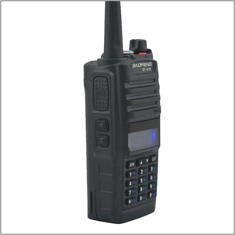 BAOFENG WALKIE TALKIE BF-A58 IP57 WATERPROOF ANTI DUST TWO WAY RADIO 136-174/ 400-520MHZ WATERPROOF radio WITH Free EarpieceBAOFENG WALKIE TALKIE BF-A58 IP57 WATERPROOF ANTI DUST TWO WAY RADIO 136-174/ 400-520MHZ WATERPROOF radio WITH Free Earpiece