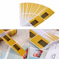 100PCS/Pack Nail Forms Strenthen Shapen Nails Sculpting Acrylic UV Gel Nail Poliosh Tips Nail Art Tool Nail Sticker