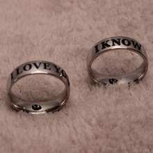Star Wars I Love You/ I Know Ring