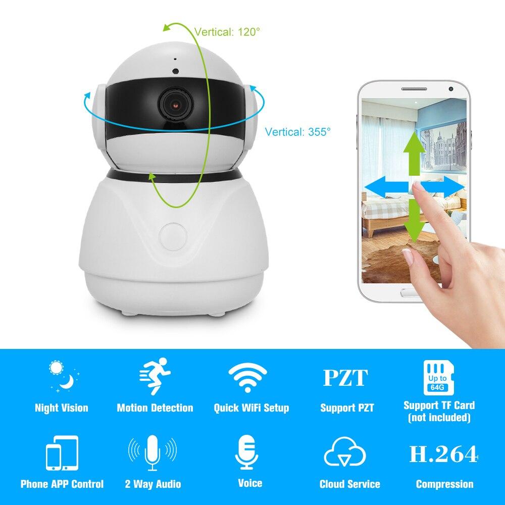 Wireless WIFI IP Camera 1080P 2MP Mobile Remote View Alarm