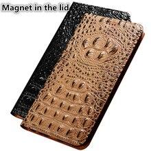 CJ11 Crocodile back pattern natural leather phone case for OnePlus 7 Pro(6.67′) case for OnePlus 7 Pro phone bag with card Slot