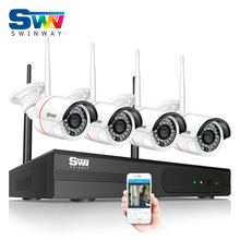 New Arrival 960P HD Outdoor IR NightVision Home Video Surveillance Security IP Camera Wifi CCTV Kit