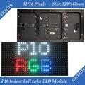 Interior 320*160mm 32*16 pixels SMD 3in1 1/8 digitalização RGB P10 da cor cheia CONDUZIU módulo para meios de publicidade Display LED