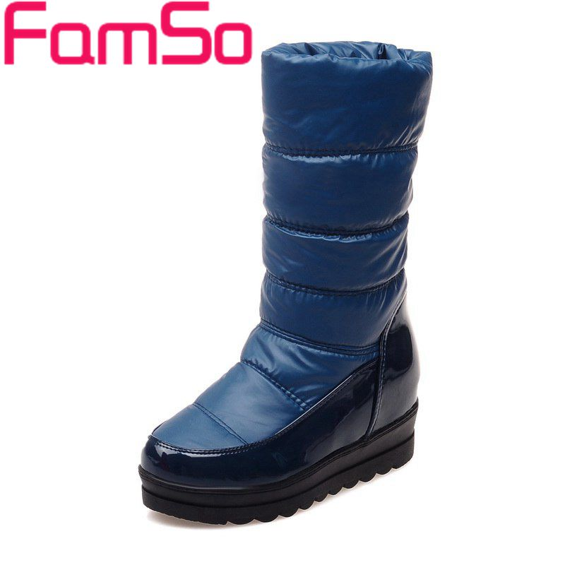 Plus Size34 43 2016 new Sexy font b Women b font Boots black Spring Half Motorcycle