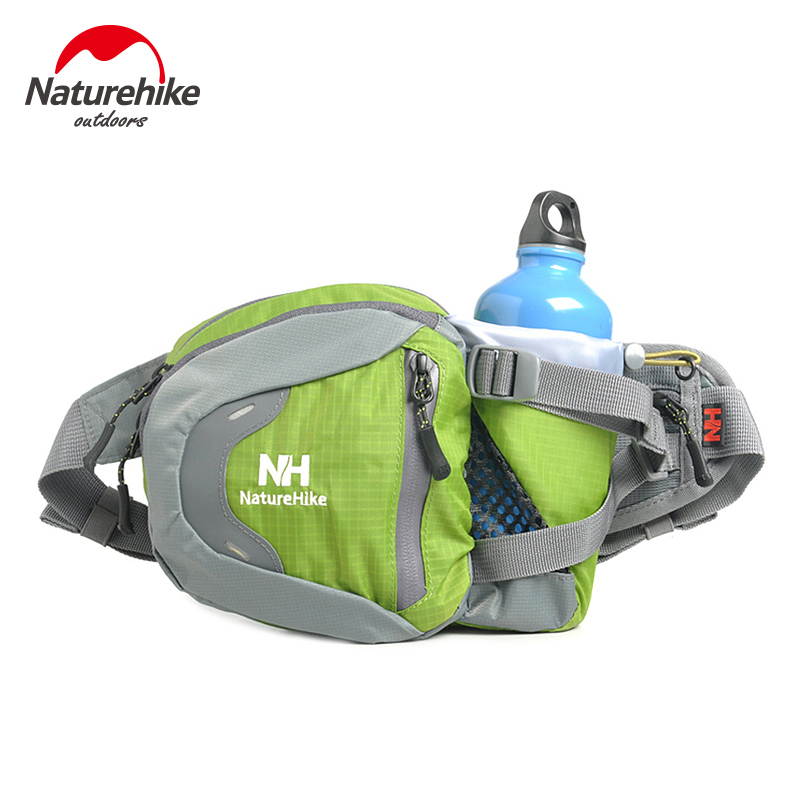 Prix pour NatureHike de Course Taille Ceinture Sac 3L Avec Bouteille D'eau Bouilloire Titulaire D'équitation Vélo Vélo Vélo Marche Taille Pack Étanche