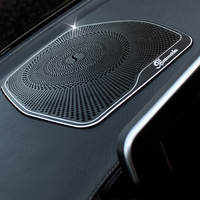 For Mercedes Benz W204 W205 C200 C Class GLC High Quality Interior Radio Grill Trim Decorative