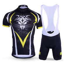 2017 Summer Cool Dragon Men Short Sleeve Cycling Jersey set Quick-Dry Sportswear MTB Bike/Bicycle Jersey Suits Cycling Clothing