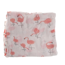 Muslin Cotton Newborn Swaddle Baby Soft Blanket Parisarc Wrap Towel Double Layer T026
